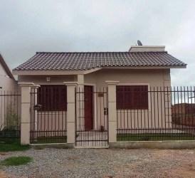 simples casas fachadas casa frente projetos pequenas baratas ideias modelos seu tuacasa terreas bem modernas muros jardins estilos inspirar projeto