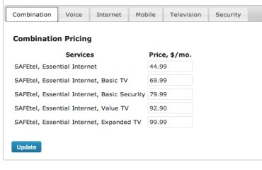 Combination Pricing