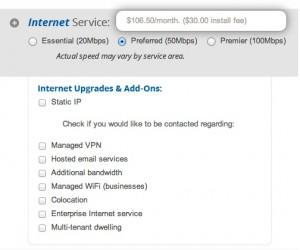 Internet Add Ons