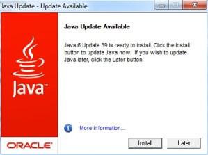 Keep Safe, Install the Latest Java Updates