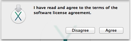 Agree with EULA