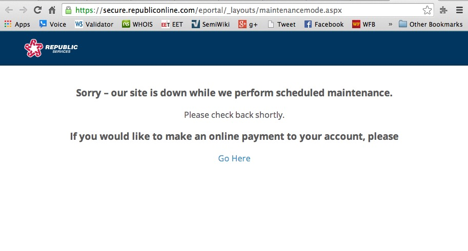 Paying for Utilities Online
