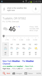 android weather