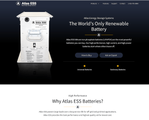Atlas Energy Storage Systems