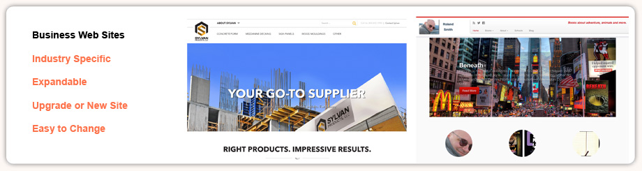 Business Web Sites