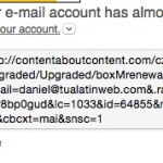 fake link address