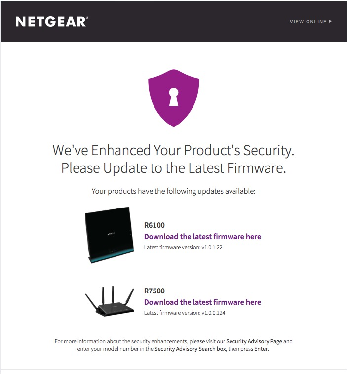 WiFi Security, Keep Updated