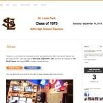 St. Louis Park - reunion web site
