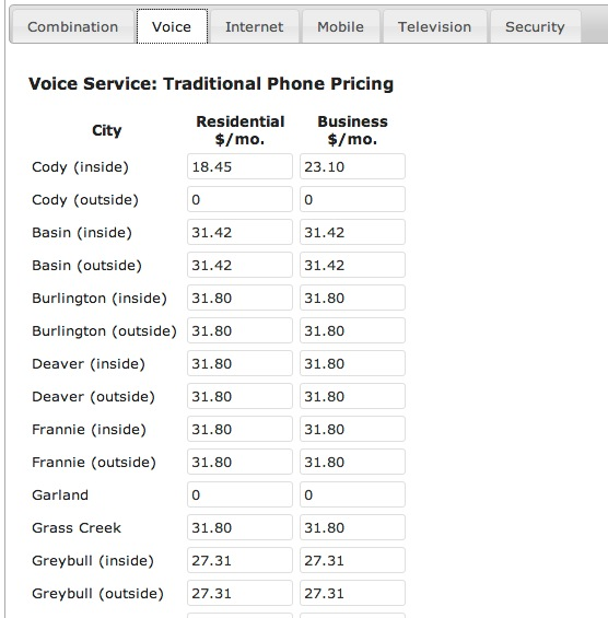 Voice Pricing