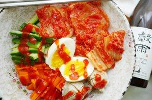 [食譜] 韓式泡菜涼麵做法