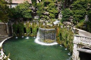 [自助旅行] 義大利羅馬近郊千泉宮,埃斯特別墅Tivoli Villa d'Este(世界遺產)