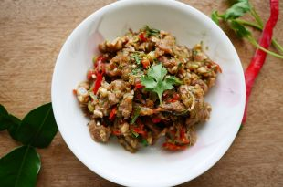 [食譜] 蝦醬香茅草炒豬肉做法