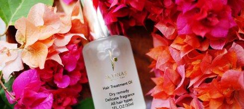 [髮品] 免沖洗護髮推薦,SCONAS Venus女神極致護髮精華油。