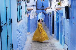 [摩洛哥自助旅行] 舍夫沙萬藍色山城遊記。舍夫沙萬交通,舍夫沙萬住宿推薦(Chefchaouen )