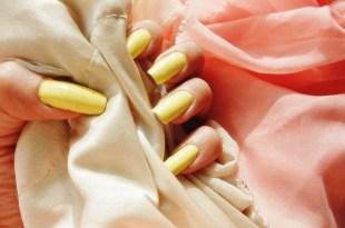ORLY指甲油試色lemonade(奶油檸檬黃)