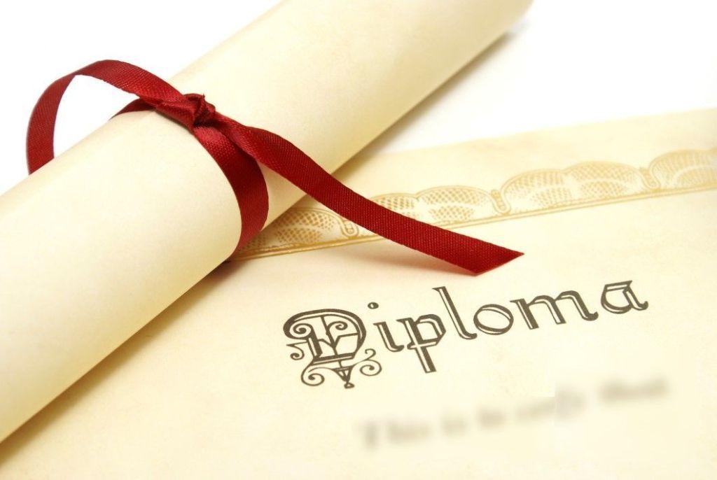 Imagen de diploma genérico. Academia de Bachillerato Virtual.