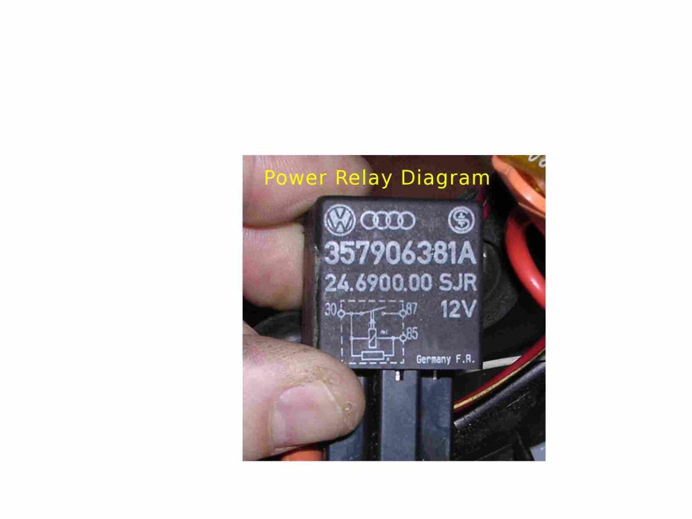 medium resolution of thesamba com vanagon view topic need relay 171 937 503 wiring relay with diode circuit diagram 2007 vw jetta ecm power relay