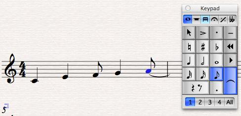 liaison rythmique