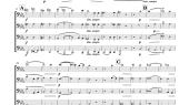 aperçu de vexilla regis pour tuba quartet
