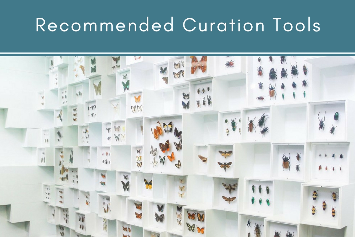 Recommended Curation Tools