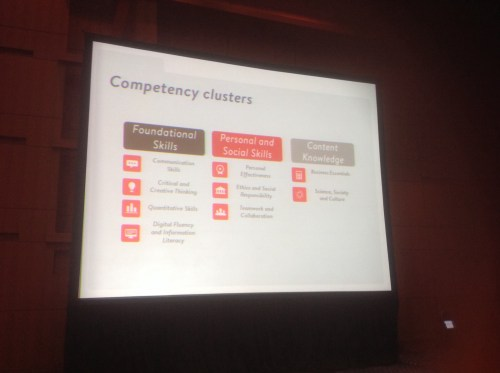 Competency clusters