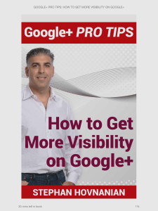 How to Get More Visibility on Google+