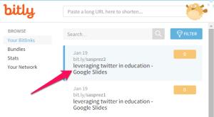 List of Bit.ly Links