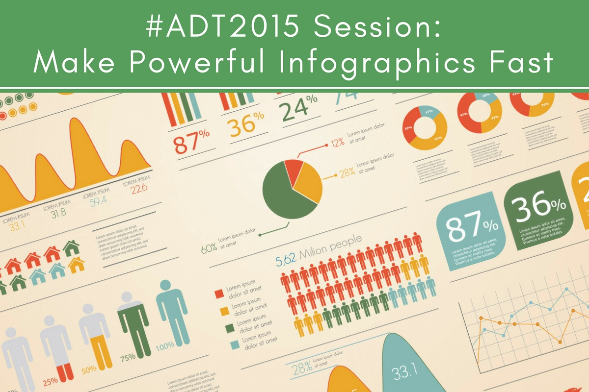 #ADT2015 Session: Make Powerful Infographics Fast