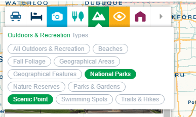 Selecting features