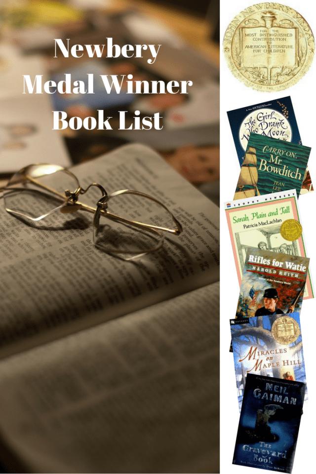 Newbery Medal Winner Book List