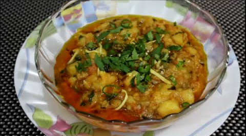 Aaloo Ka Bharta ( Mashed Potato Curry )