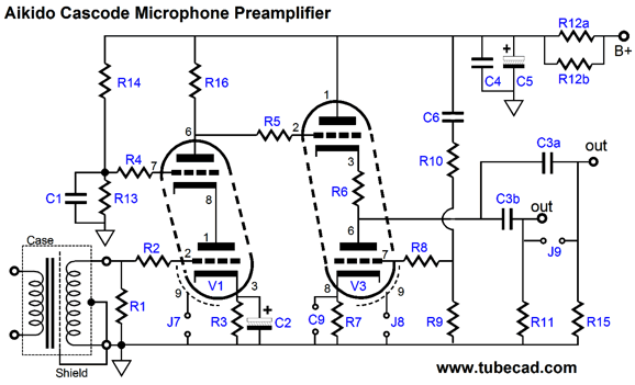 balanced microphone preamp