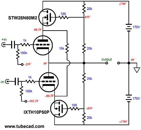 Hard-Core OTL Amplifier Design