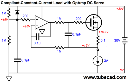 differential amplifier using one opamp