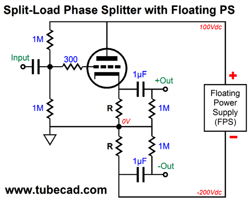 Floating Power Supplies & Inverted SRPP