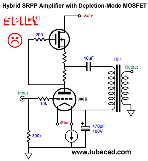 More Speaker Ideas & SRPP Power Amplifier