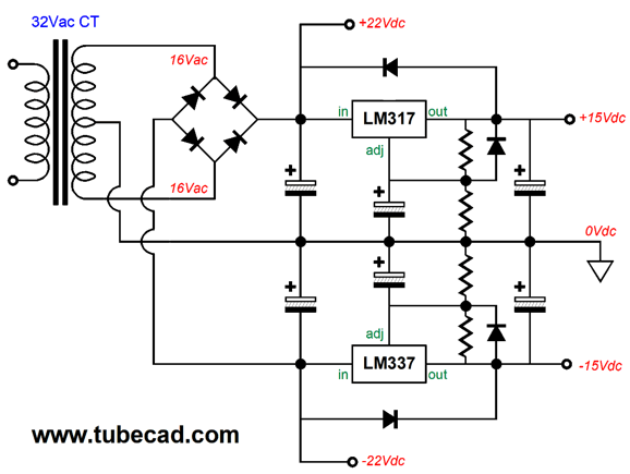 mosfet power follower