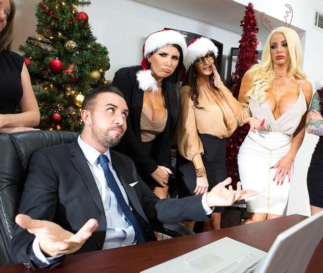 Brazzers Office 4 Play Christmas Bonuses