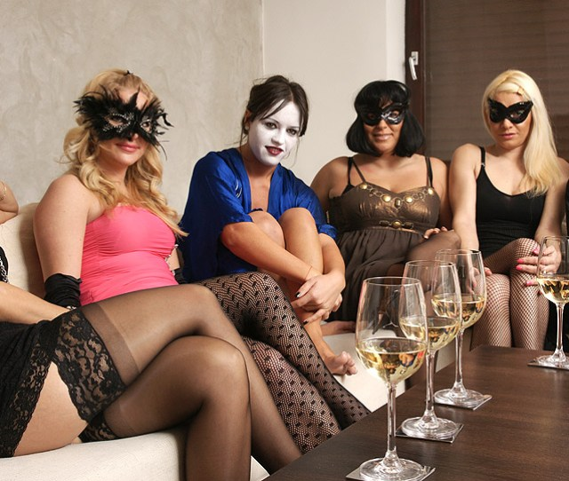 Welcome To A Very Naughty Mature Lesbian Party