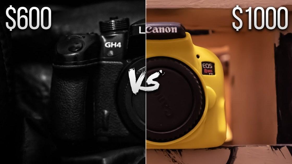 Canon T7i Vs  Panasonic GH4 | 2019 Review