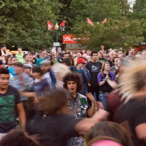 Concert in the Park PUNKS NOT DEAD!