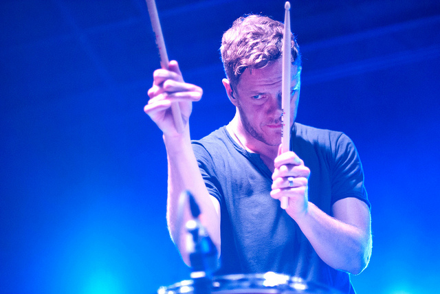 Imagine Dragons. LAUNCH 2013. Photo Heather Uroff