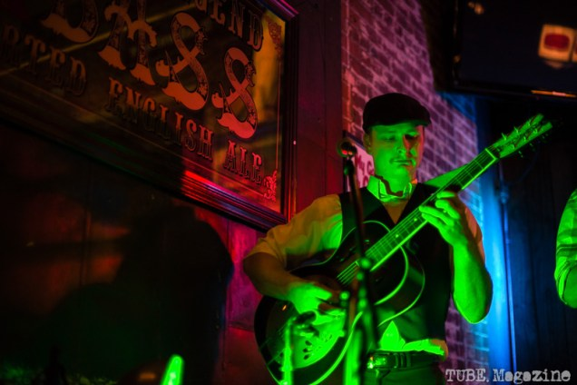 Miss Maddy's F Street Stompers at the Fox and Goose. Sacramento CA. Jan. 2014 Photo Melissa Uroff