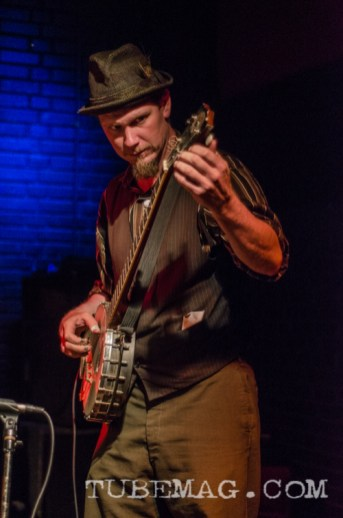 Mr. S. L. Gomper, of Thee Hobo Gobbelins Photo by Mickey Martin Photography