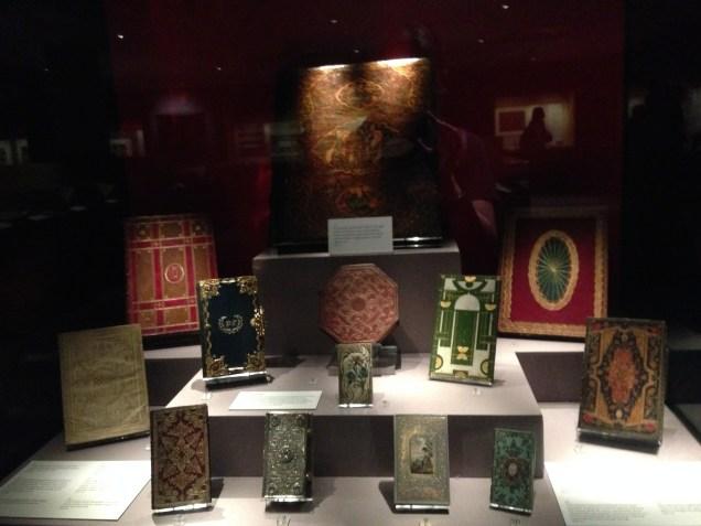 Treasures of the British Library exhibit.