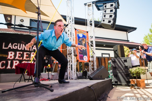 Molotov performing at the 2014 Lagunitas Beer Circus in Petaluma CA. Photo Melissa Uroff