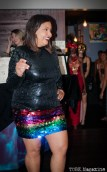 "PERSEVERANCE FASHION SHOW at Blackbird Kitchen + Beer Gallery. Hanna Be of Retrospect Vintage Fashion. Sacramento CA. Photo Heather ""the intern"" Uroff. 2014."