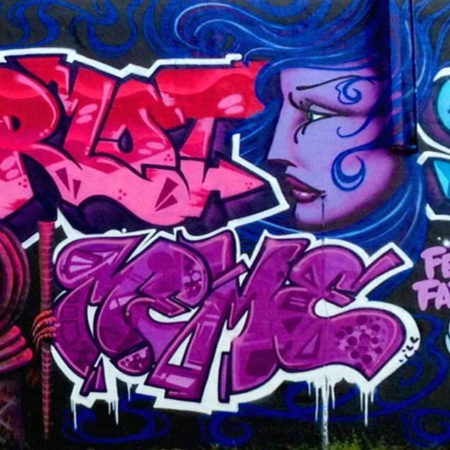 Art Basel Festival 2012 mural by Far and Few