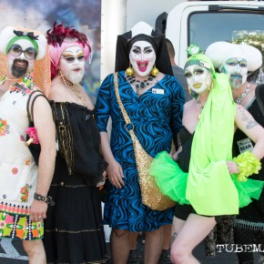 Lipstick, Bare Cheeks & Razzle-Dazzle at Sacramento Pride 2015