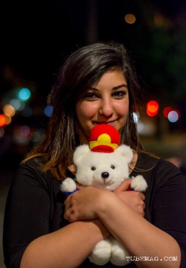 Prize winner at the TUBE. Circus. Blue Lamp in Sacramento CA. May 15, 2015. Photo Sarah Elliott.